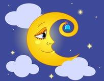 Lune. Images libres de droits