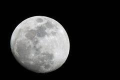 Lune blanche Photographie stock libre de droits