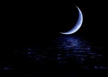 Lune bleue Photographie stock libre de droits