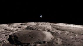 Lune dans l'espace extra-atmosphérique, surface De haute qualité, résolution, 4k Éléments de cette image fournis par la NASA illustration libre de droits