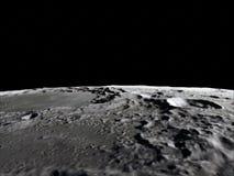 Lune dans l'espace extra-atmosphérique, surface De haute qualité, résolution, 4k Éléments de cette image meublés par la NASA images libres de droits