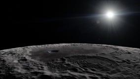 Lune dans l'espace extra-atmosphérique, surface De haute qualité, résolution, 4k Éléments de cette image meublés par la NASA photos stock