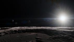 Lune dans l'espace extra-atmosphérique, surface De haute qualité, résolution, 4k Éléments de cette image meublés par la NASA photo libre de droits