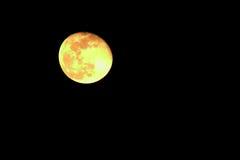 Lune dans le ciel Photographie stock libre de droits