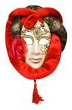 lune de masque de carnaval vénitienne Images stock
