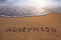 Lune de miel Photographie stock libre de droits