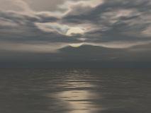 Lune de nuit illustration stock