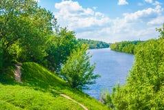 Lune de rivière Photographie stock libre de droits