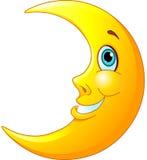 Lune de sourire Photographie stock