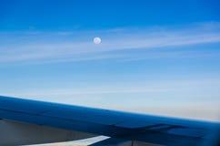 Lune en hausse Images libres de droits