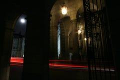 Lune et lumière Images stock