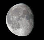 Lune gibbbeuse de affaiblissement photo stock