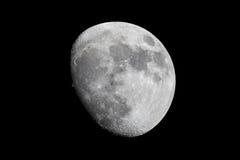 Lune gibbbeuse de affaiblissement Photos libres de droits