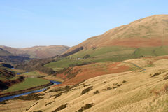 Lune Gorge and Howgill Fells near Tebay, Cumbria Stock Image