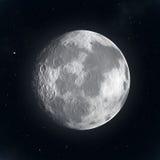 Lune la nuit illustration libre de droits