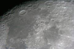 Lune la nuit Photographie stock libre de droits