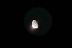 Lune lumineuse Image libre de droits