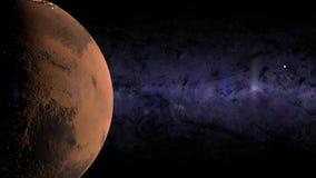 Lune Mars de la terre Photo libre de droits