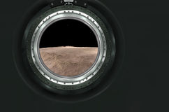 Lune, Mars du paysage étranger de planète Images libres de droits
