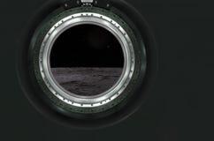 Lune, Mars du paysage étranger de planète Images stock