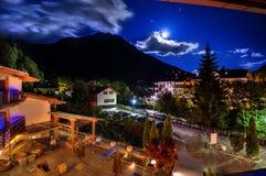 Lune nuageuse image stock