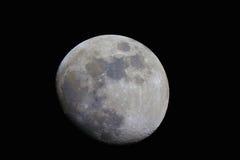 Lune pendant la nuit Images stock