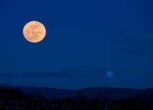 Lune piene Immagini Stock Libere da Diritti