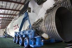 Lune Rocket de Saturn V Photos stock