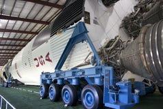 Lune Rocket de Saturn V Images stock