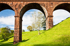 Lune Viaduct. In Great Britain Royalty Free Stock Photo