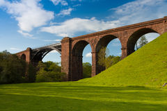 Lune viaduct  in Yorkshire Dales National Park, Great Britain Royalty Free Stock Photos