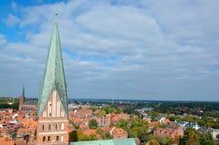 Luneburg, Нижняя Саксония, Германия Стоковые Фото