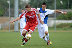 Luneburg - Brescia soccer game Royalty Free Stock Photography