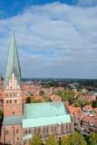 Luneburg Låg-Sachsen, Tyskland royaltyfria bilder