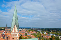 Luneburg, Saxony, Niemcy Zdjęcia Stock