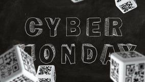 Lunedì cyber illustrazione di stock