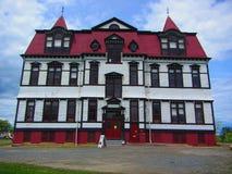 Lunenburg学院 库存图片