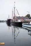 Lunenburg港口 免版税图库摄影