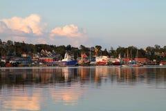 Lunenburg, Новая Шотландия Стоковое фото RF