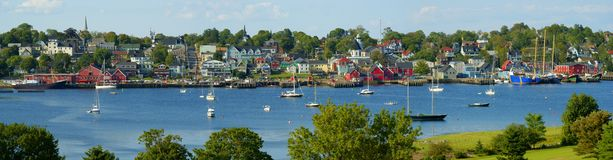 lunenburg Obraz Royalty Free