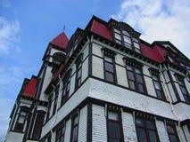 Lunenburg Academy Lunenburg Nova Scotia stock images