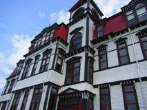 Lunenburg akademi Lunenburg Nova Scotia Arkivfoto
