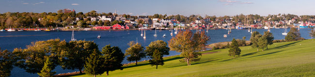 Lunenburg, la Nouvelle-Écosse, Canada Images stock