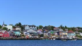 Lunenburg, la Nouvelle-Écosse, Canada images libres de droits