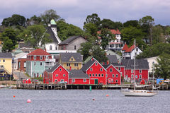 Lunenburg, Nova Scotia Royalty Free Stock Photos