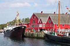 Lunenburg Nova Scotia Royaltyfria Bilder