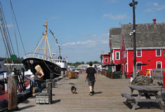 Lunenburg, Nova Scotia Foto de Stock