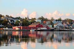 Lunenburg, Nova Scotia Fotografia Stock