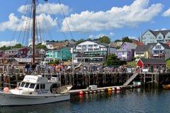 Lunenburg, Nova Scotia Imagem de Stock Royalty Free