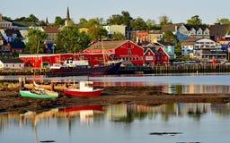 Lunenburg Nova Scotia Royaltyfri Foto